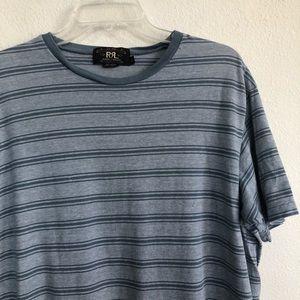 RRL Ralph Lauren striped short sleeve tee t shirt